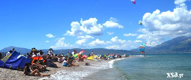 kitesuurfing festival in greece