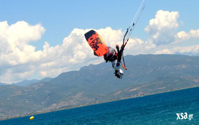 kiteboard in greece
